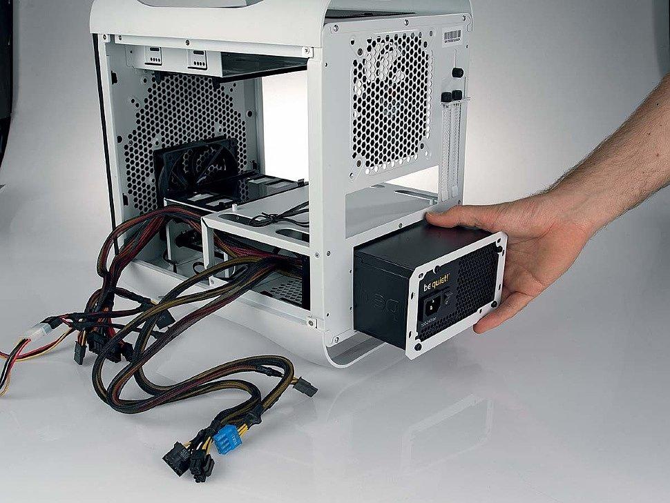 Самостоятельная сборка домашнего сервера NAS