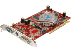 БУ Видеокарта PCI-e ASUS Radeon X1050, 256MB, DDR, 128-bit, VGA/ DVI/ TV Out