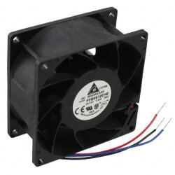 БУ Вентилятор для корпуса Delta Fan Tubeaxial 12VDC Square - 80mm L x 80mm H Ball 80.2 CFM (2.25m³/
