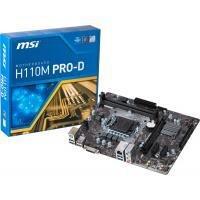 БУ Материнская плата MSI H110M PRO-D (s1151, 2xDDR4, 4xSATA, PCI-Ex16,