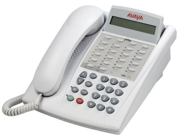 БУ Телефон AT&T Lucent AVAYA Euro Partner 18D, белый (Partner-
