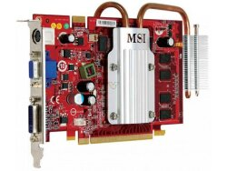 БУ Видеокарта PCI-e MSI GeForce 8600GT, 512MB, GDDR2, 128-bit, VGA/ DVI/ HDMI