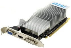 БУ Видеокарта PCI-e MSI GeForce 210 LP, 1024MB GDDR3, 64-bit, VGA/ DVI/ HDMI