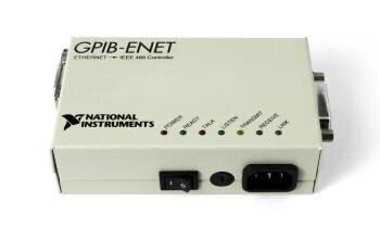 БУ Контроллер National Instruments GPIB-ENET Ethernet IEEE 488 (181950M-01)