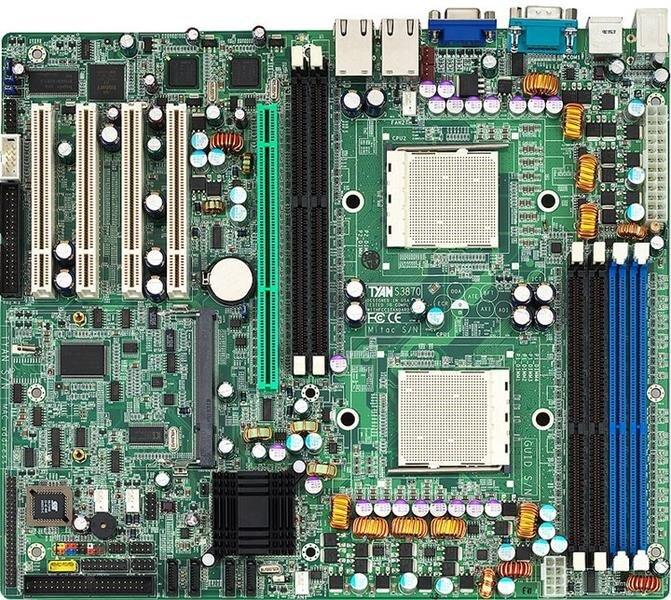 Материнськая плата для сервера TYAN S3870G2NR, 2xs940, 6xDDR, 2xLan, A