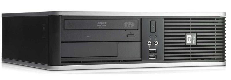 БУ Настольный ПК HP Compaq 7900 SFF, Pentium Dual, 4Gb DDR2, Intel GMA