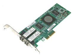 БУ Сетевая карта QLogic PCI-E х4 Single Port 4G Fibre Channel