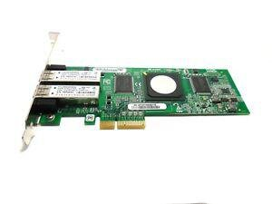 БУ Сетевая карта QLogic PCI-E х4 Dual Port 4G Fibre Channel