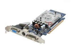 БУ Видеокарта PCI-e Asus GeForce 8400GS, 512MB, GDDR2, 64-bit, VGA/ DVI