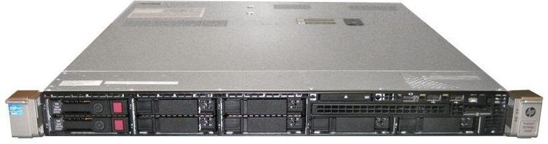 БУ Сервер 1U HP ProLiant DL360p G8, Xeon E5-2620, 16GB DDR3, без HDD,