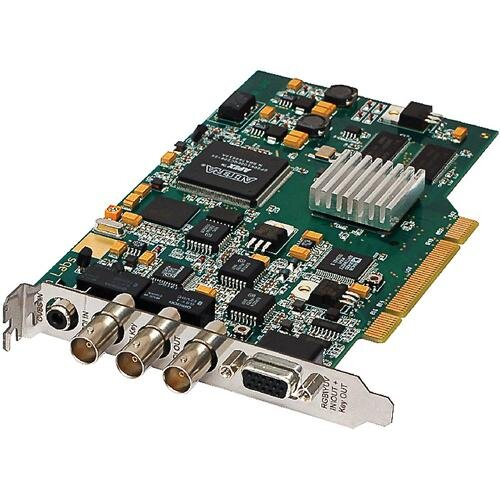 БУ Многофункциональная PCI-плата Stream Alpha SDI, для наложения компь