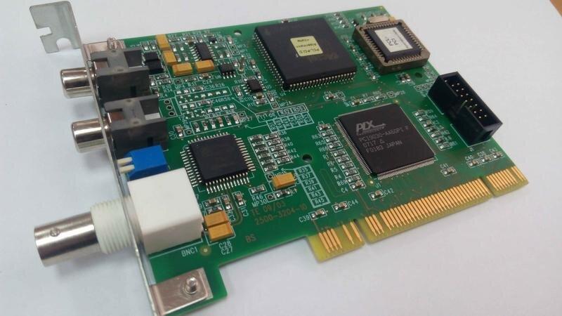 БУ Плата Alpermann+Velte PCL PCI Time Code Reader (PCLPCI) PCLPCI