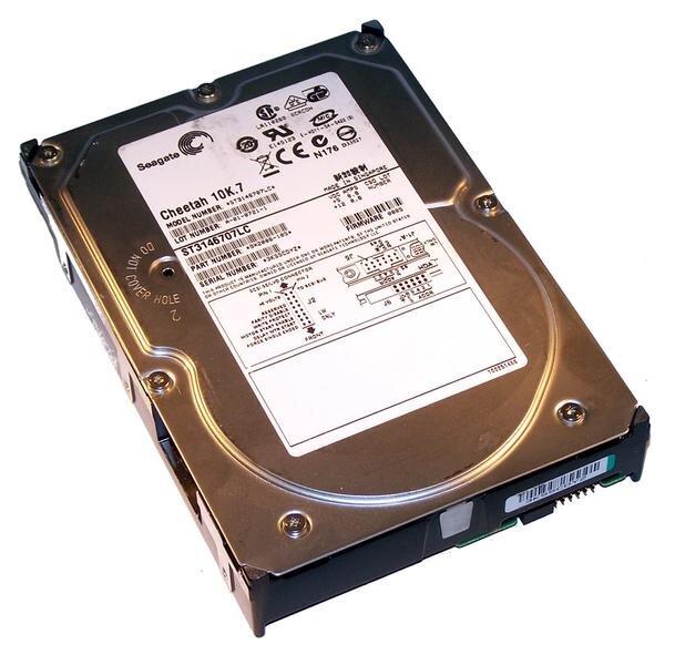 БУ Жесткий диск для сервера SCSI 146GB Seagate 3.5
