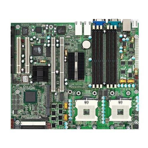 БУ Материнская плата для сервера TYAN S2663 (2xs604, 4xDDR, no SATA, v