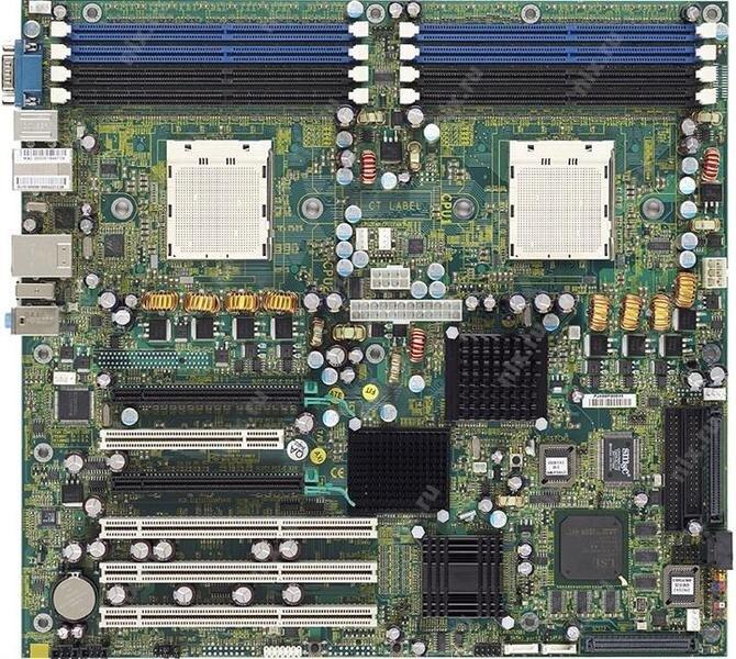 БУ Материнськая плата для сервера TYAN Thunder K8WE, 2xs940, 8xDDR, 2x