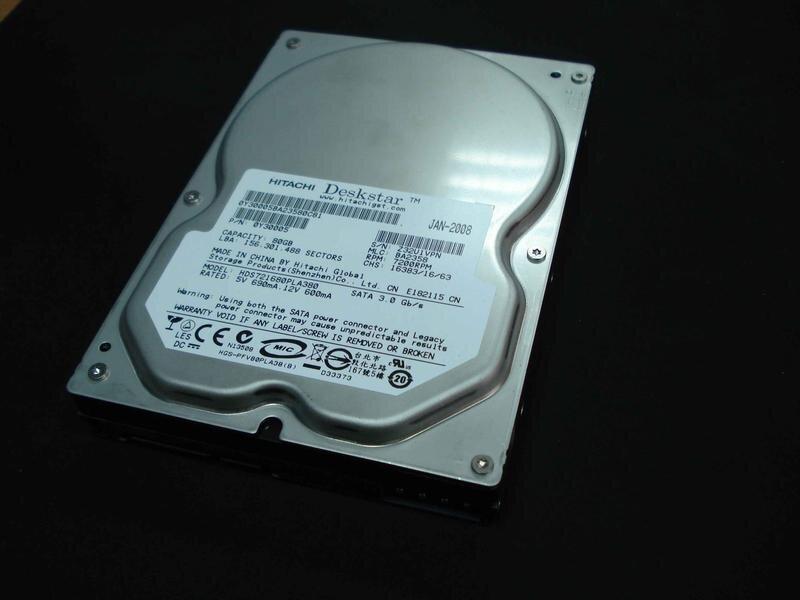 БУ Жесткий диск SATA 80GB Hitachi 3.5 7200 RPM 8MB (0Y30005) 0Y30005