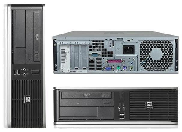 БУ Настольный ПК HP Compaq dc7800, Core2Quad Q6600 (2.4Ghz), 4Gb DDR2 (4x1), Intel GMA, без HDD