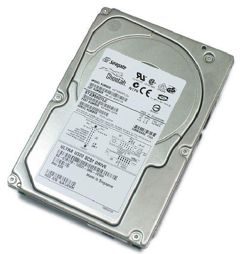 БУ Жесткий диск для сервера SCSI 36,7 GB Seagate 3.5