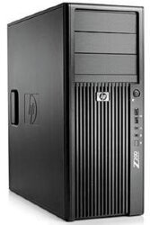 БУ Настольный ПК HP Z400 Workstation, Xeon W3520, 8GB DDR3, no GPU, 500Gb