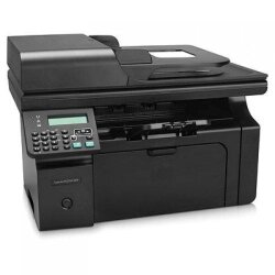 БУ МФУ лазерное HP LaserJet Pro M1214nfh MFP (A4, до 18 стр/ мин, USB, Ethernet) пробег: 34188 стр.