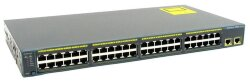 БУ Коммутатор Cisco Catalyst 2960, 2xGigabit, 48x100 mbit (WS-C2960-48TT-L)