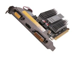 БУ Видеокарта PCI-e Zotac GeForce 210, 1024MB DDR3, 64-bit, VGA/ DVI/ HDMI