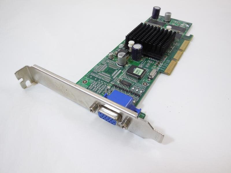 БУ Видеокарта AGP GeForce2 MX-400, 32MB, VGA
