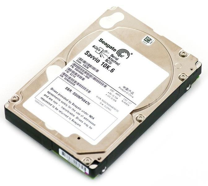 БУ Жесткий диск для сервера SAS 300GB Seagate 2.5