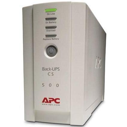 БУ ИБП APC Back-UPS CS 500VA , БЕЗ АКБ, БЕЗ КАБЕЛЕЙ (BK500-RS) (BK500-