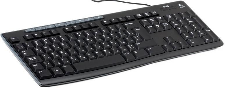 БУ Клавиатура USB K200, black (920-002779) 920-002779