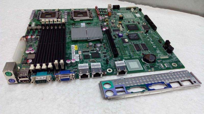 БУ Материнска плата для сервера Dell DA0S45MB8D0, 2xs771, 6xDDR2, 2xLa