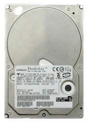 БУ Жесткий диск SATA 164GB Hitachi 3.5 7200 RPM 8MB (0A34082) (HDS721616PLA380)